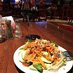Salad from the salad bar