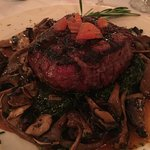 Filet Mignon & Mushrooms