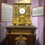 Organ clock as tribute to Napoleon