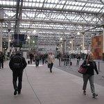 Entrance to Edinburgh Waverley Station