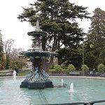 Peacock Fountain at the Botanic Garden