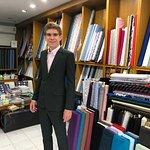Cashmere wool suit