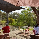 Outside Seating overlooking river