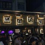 Maze entrance picture