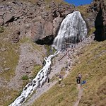 на подходе к водопаду