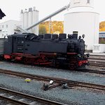 In the yard at Freital