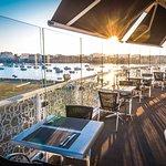 Terrasse panoramique du restaurant le QG
