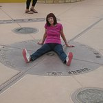 Four Corners Monument, a limb in each of the 4 states at the same time