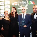 Route5 is the winner at the English Italian awards as Best Italian Authentic Menu 2018 !!  So pr