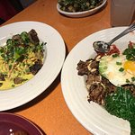 BiBimBap and Curry bowl