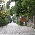 Paved path, Khorog City Park