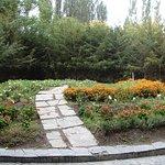 Flower bed, Khorog City Park