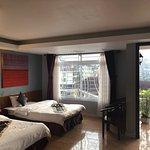 My hotel room with balcony