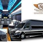 Brand New Black Mercedes Benz Sprinter Limo (12 Passenger)