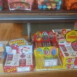 Candy cigars and cigarettes, hard to find these days!
