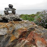Our Inukchuk at the Lighthouse