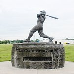 Mickey Mantle Statue, Commerce, OK, Sep 2018