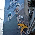 Fresque Cyclisme