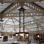 """Amazing lobby """"roof"""""""