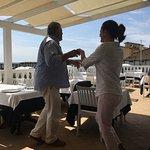 Dancing between courses