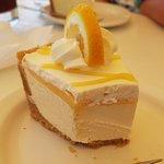 Lemon Truffle Cheesecake, a must have desert