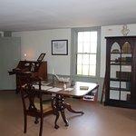 Melville's writing table at Arrowhead. 10/10/18