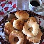 Biscoitos e pães de queijo