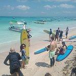 Newbro Surfing Photo