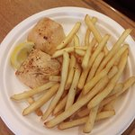 Grilled Salmon w/ fries