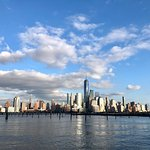 Hoboken Waterfront Walkway Foto
