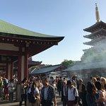 Pagoda at Sensoji.
