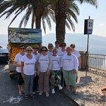 Arriving in Sorrento