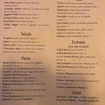 new menu at il mercatino. Now open Tusday to Sunday from 5pm to 10pm