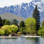 Another View of the Bath House & The Remarkables from the Bay