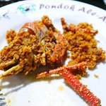 Tasty and succulent Udang Gala (giant prawns), so good you need to taste it