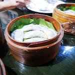 Steamed rice dumplings with chives or white turnips.