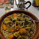 Chicken & Green Olives Tagine