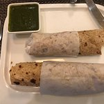 Customized vegan lunch with chutney
