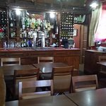 The bar upstairs