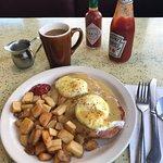 eggs Benedict - very good!