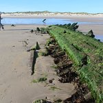 Substantial wooden wreck last year