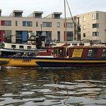 Take a ferry from the city centre to Hotwells Stop at the SS Great Britain too