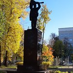 Monument of the Moscow Participants of the December Armed Uprising in 1905照片