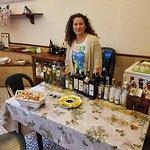 Rafaela at the Olive Oil Farm. Very nice lady.
