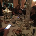 This was a rehearsal dinner for 72 friends and family...it was seamless! The