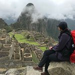 and the reason we go for Inca trail - Machu Picchu!
