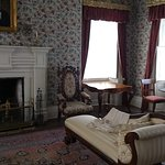 Furnished room in the museum