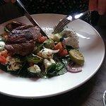 Leg of lamb salad