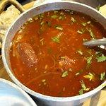 Borscht (soup -- should be beets-based)