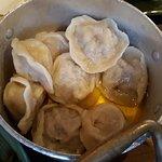 Pelmeni (veal dumplings)